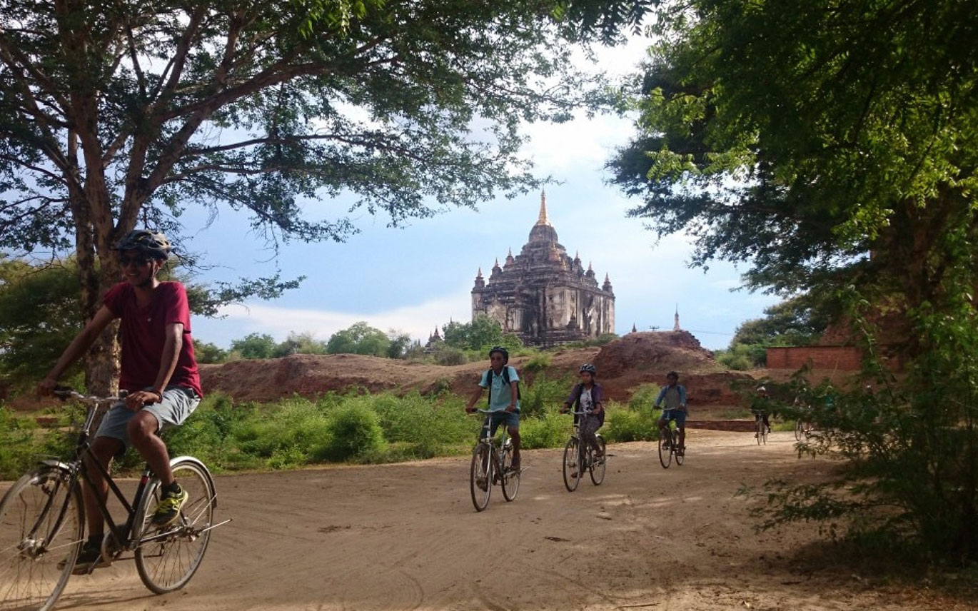 Bagan Biking  - 4 Days