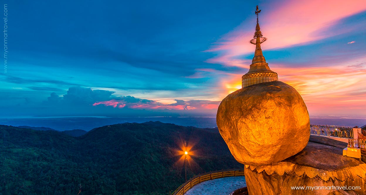 Myanmar The Golden Rock 1