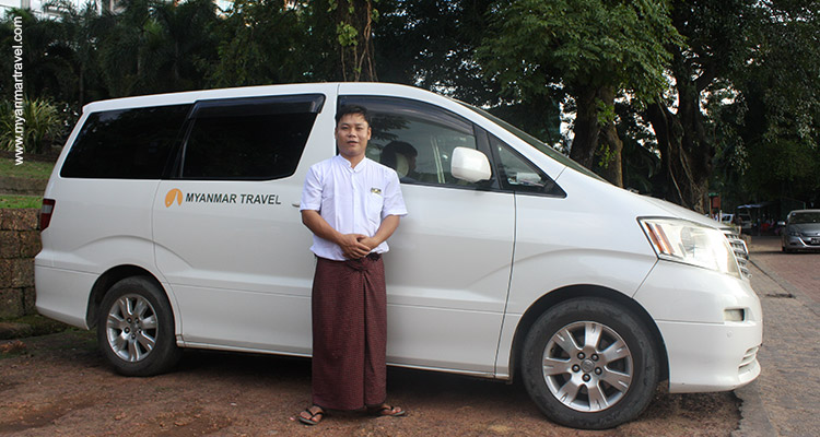 Myanmar Travel private Car