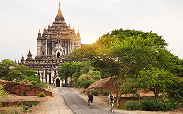 Biking Myanmar - 8 Days