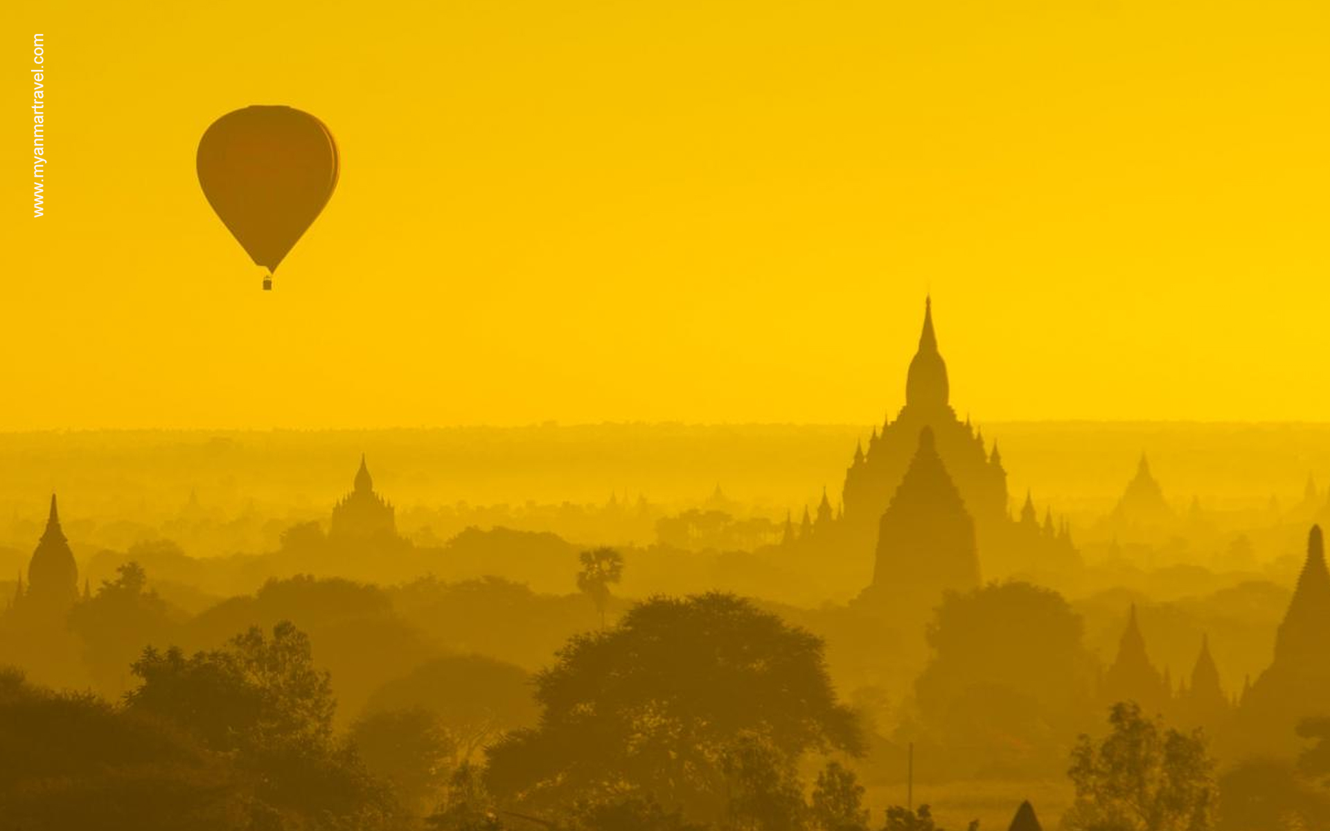 hot balloon air in Bagan 8