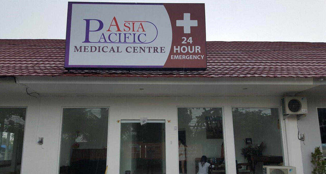 Asia Pacific Medical Centre in yangon