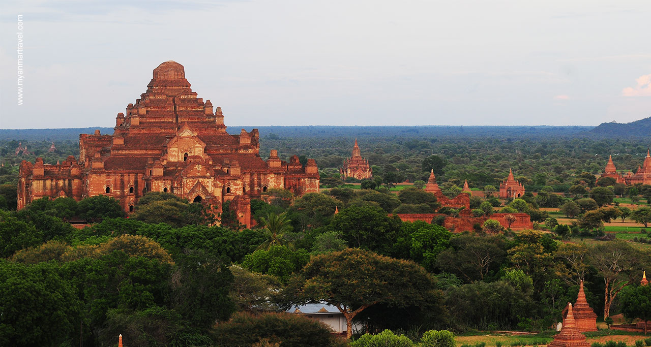 Dhammayangyi Temple in bagan