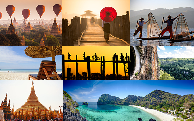Top 10 Famous Attractions in Myanmar