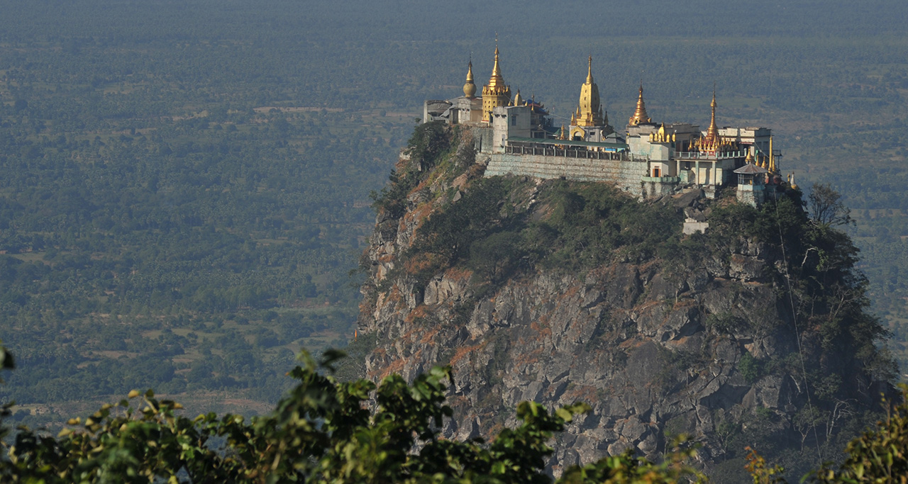 Poppa Mountains Bagan