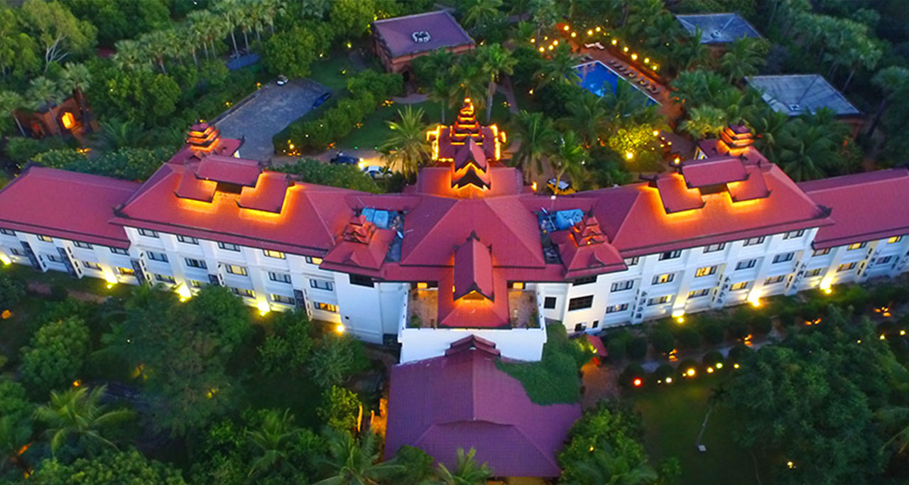 Amazing Bagan resort in bagan