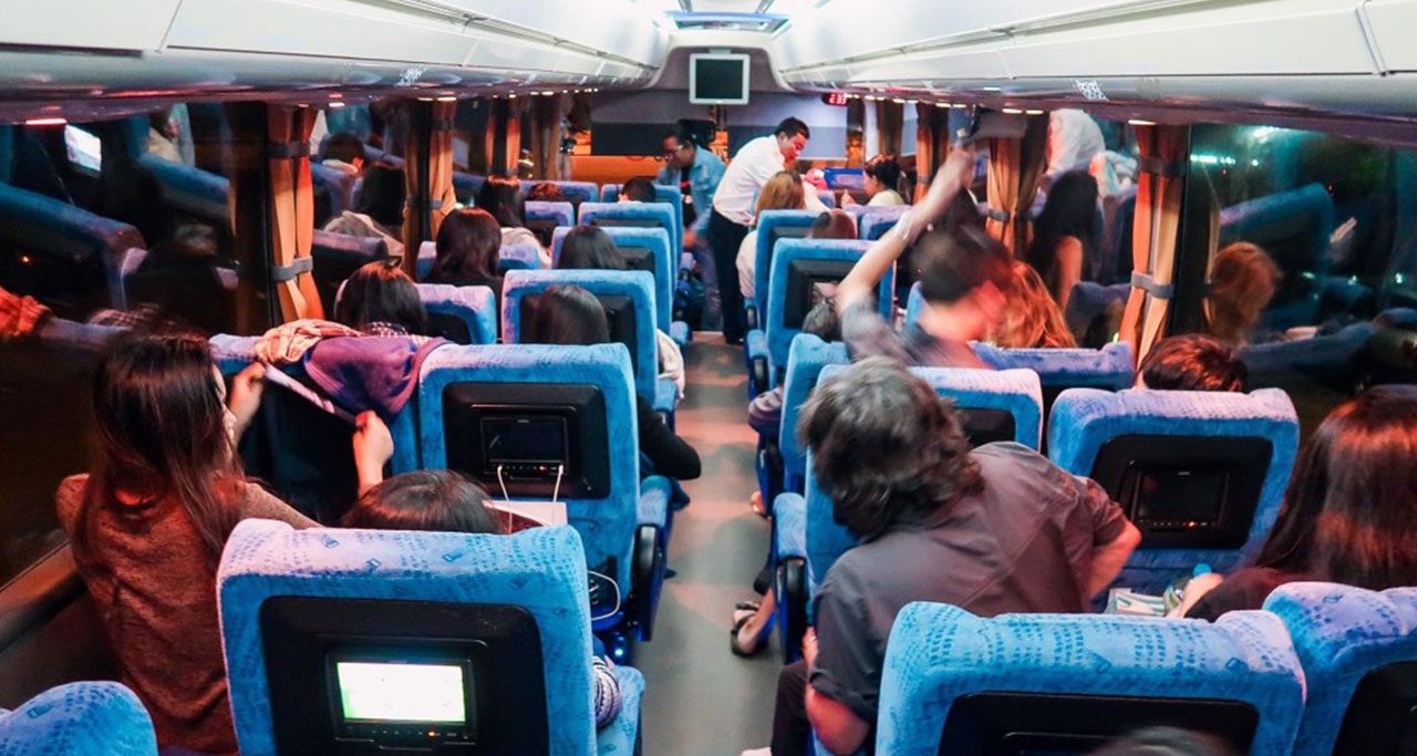 go to mandalay from bagan by bus