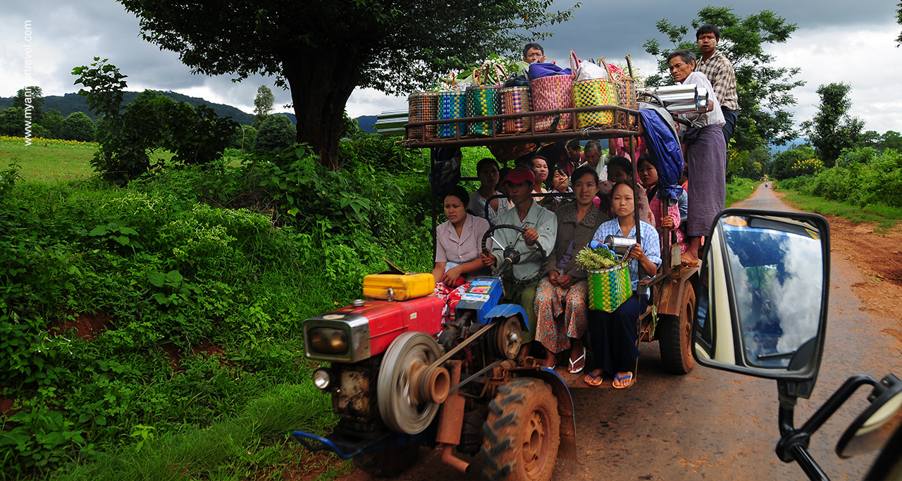 transportation myanmar