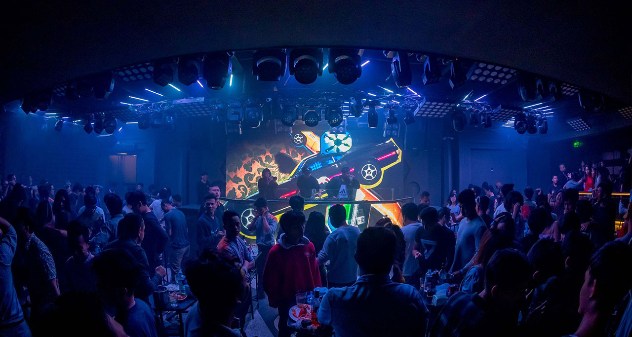 Fuse Nightclub in yangon