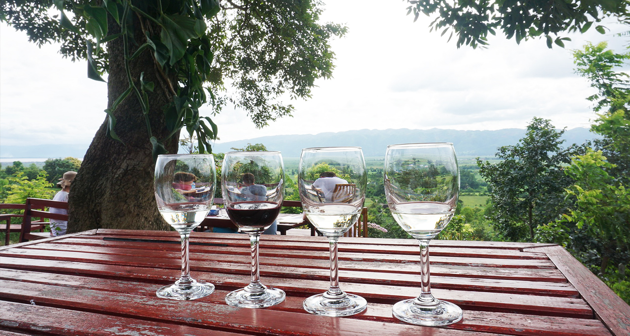 Red Mountain Estate Vineyard inle lake