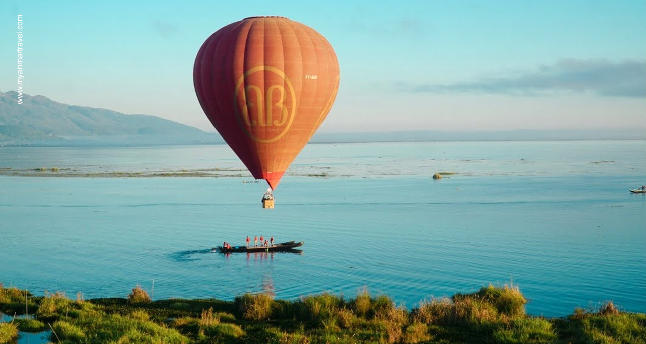 Inle Lake Balloon