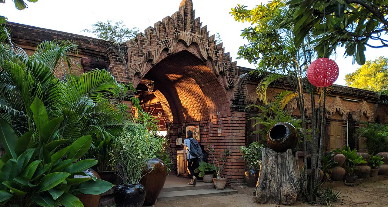 Sunset Garden Restaurant bagan