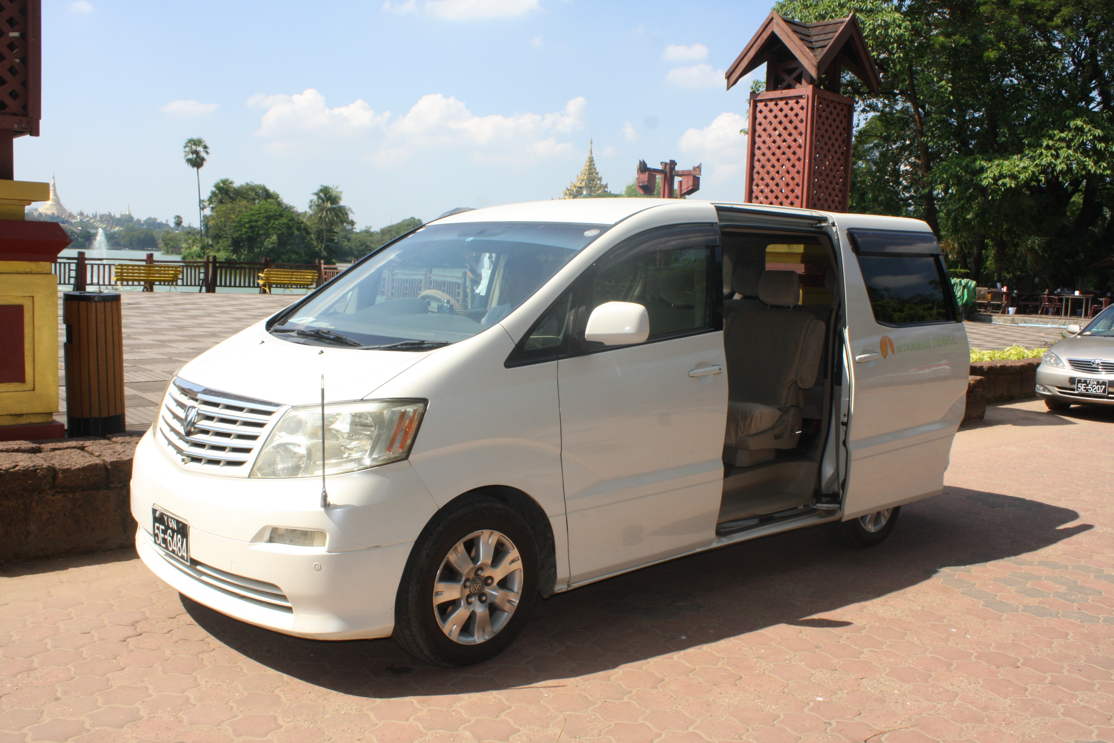 Traveling by private car with Myanmar Travel