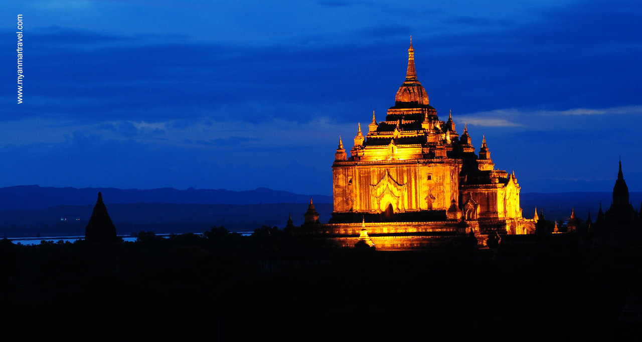 Bagan Myanmar Night