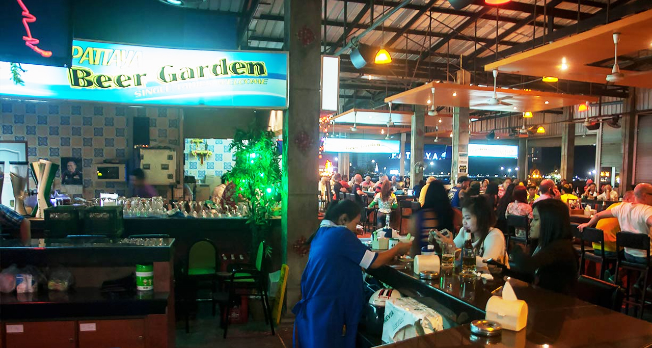 Beer garden mandalay