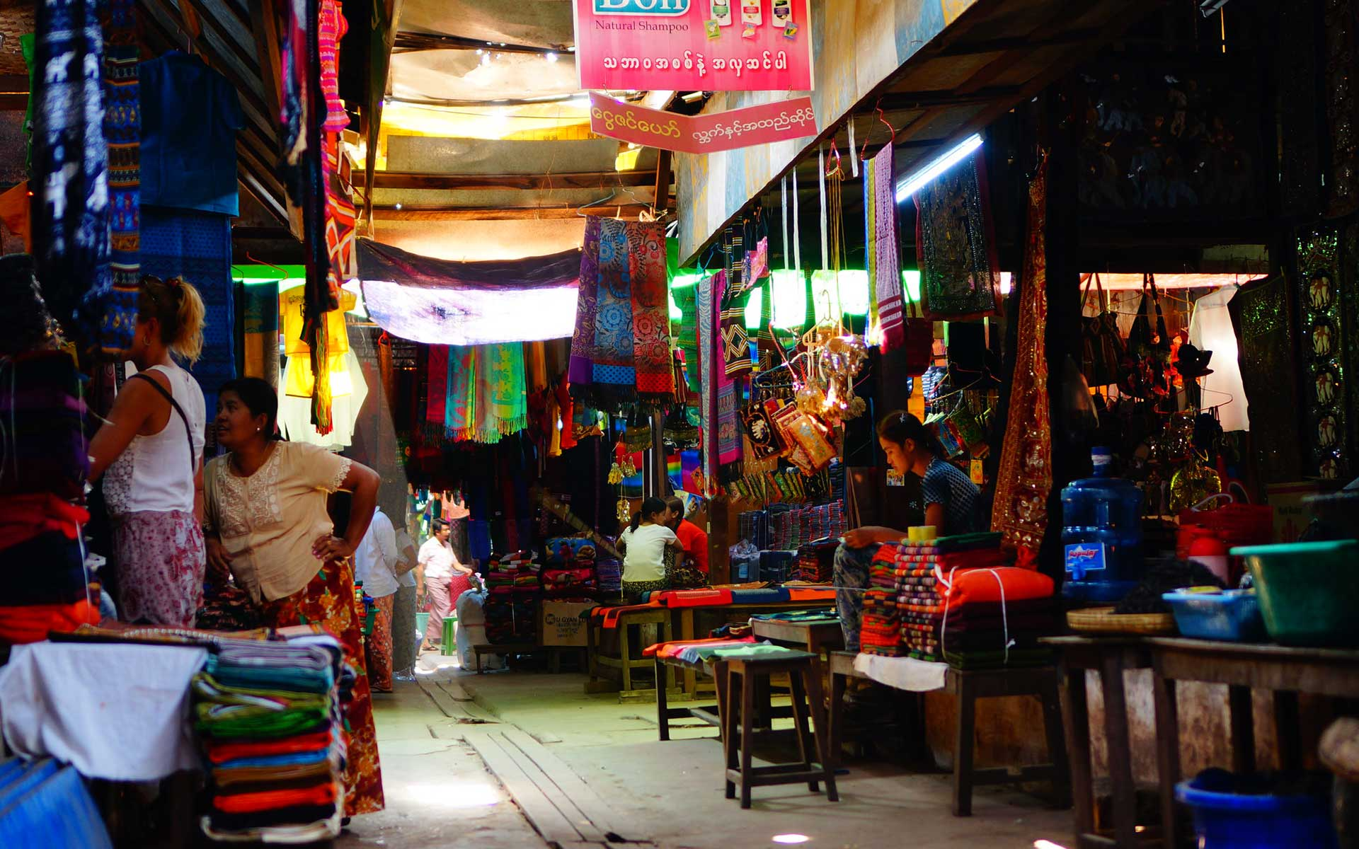 Night market in Bagan