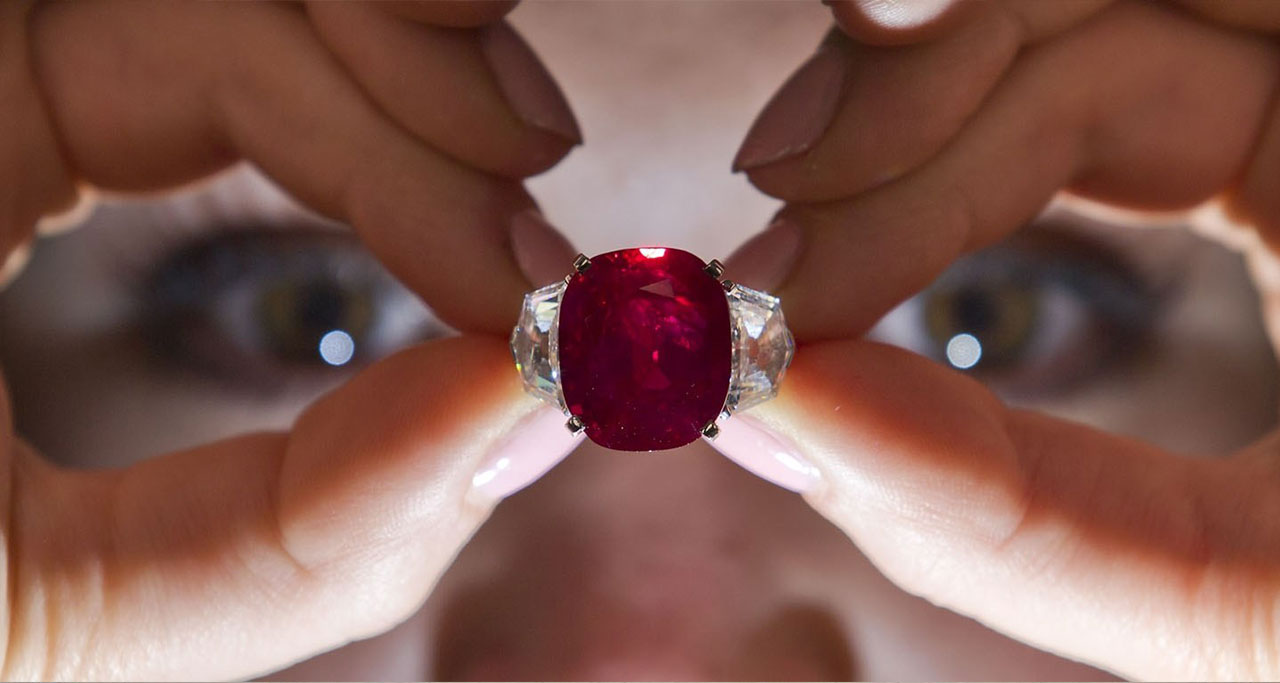 rubies come from Myanmar