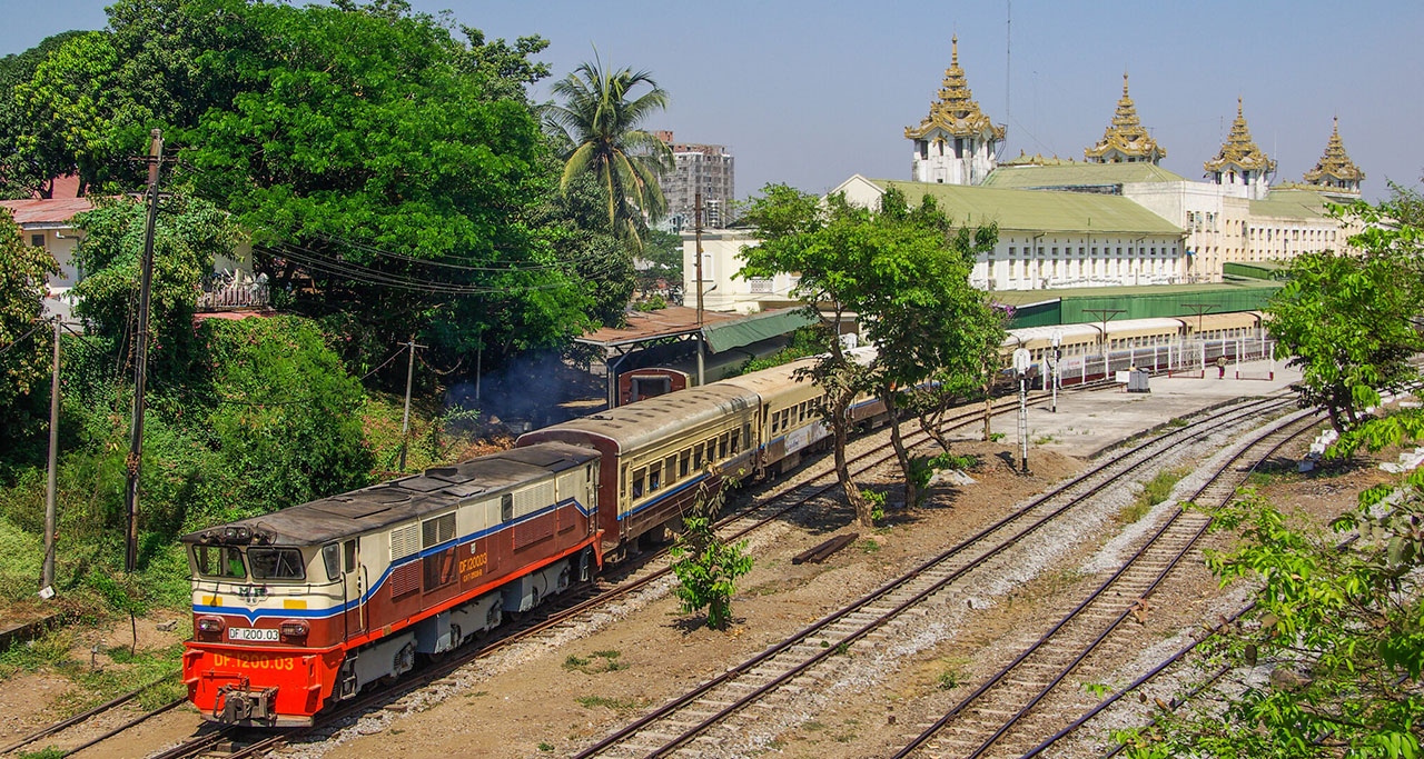 visit Monywa by train