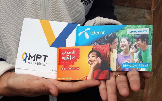 SIM Cards in Myanmar