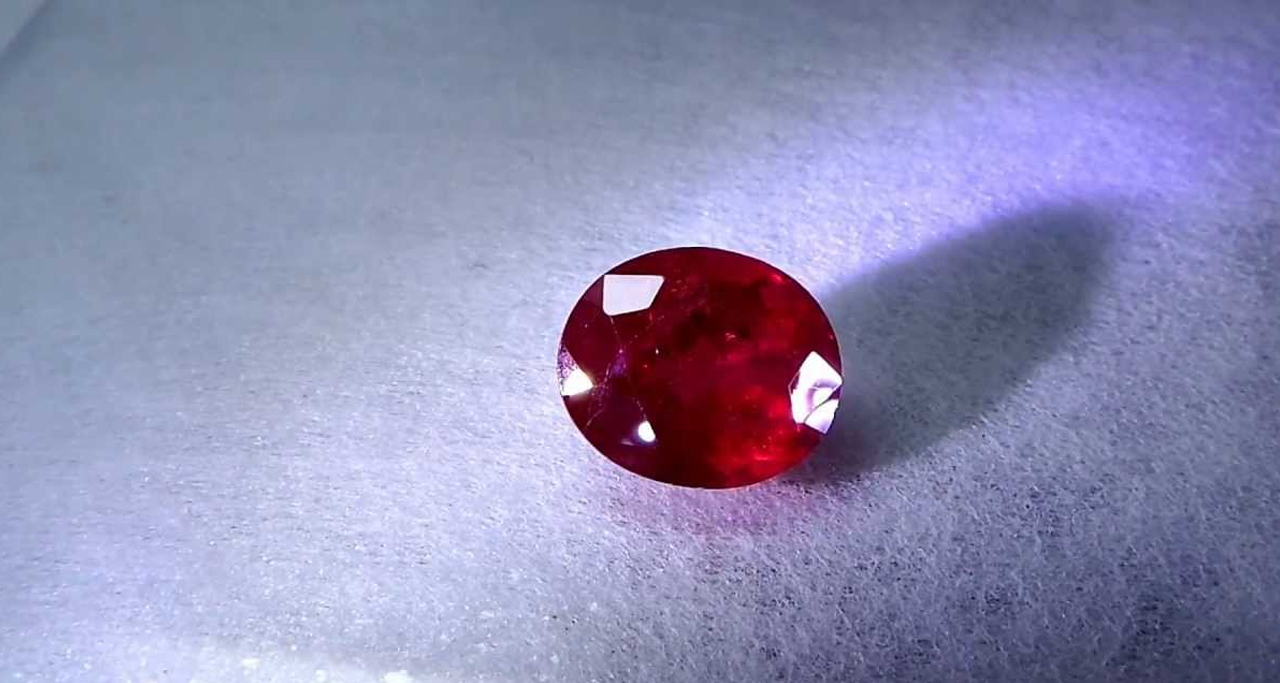 Pigeon blood is the most desirable and sophisticated color in ruby's world