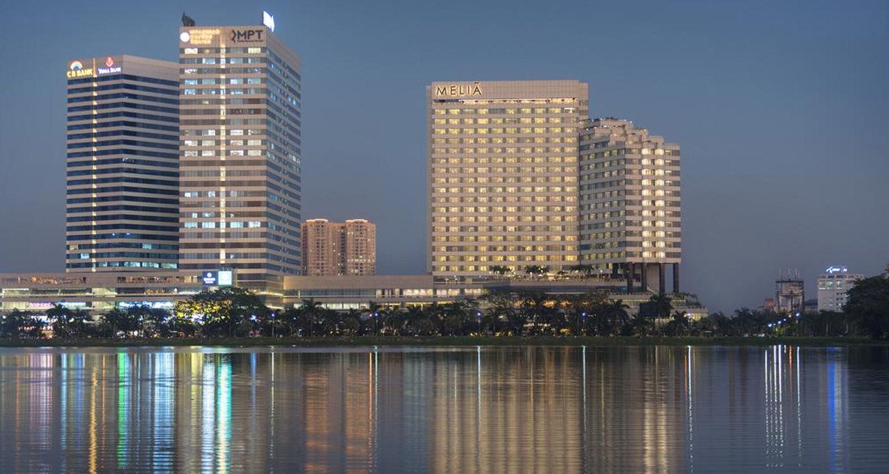 Many hotels have been built over the past few years in Yangon.